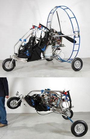 Paramotor Trike, Powered Paragliding Tandem Trike - American Paragliding