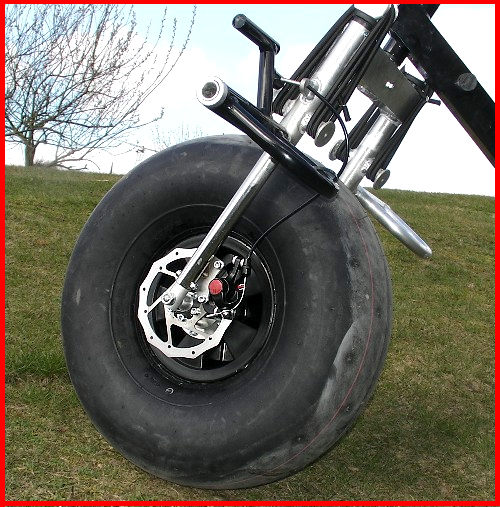 All Weather Tires >> The Fresh Breeze Bullix, a heavy duty trike for Powered Paragliding and Paramotoring ...