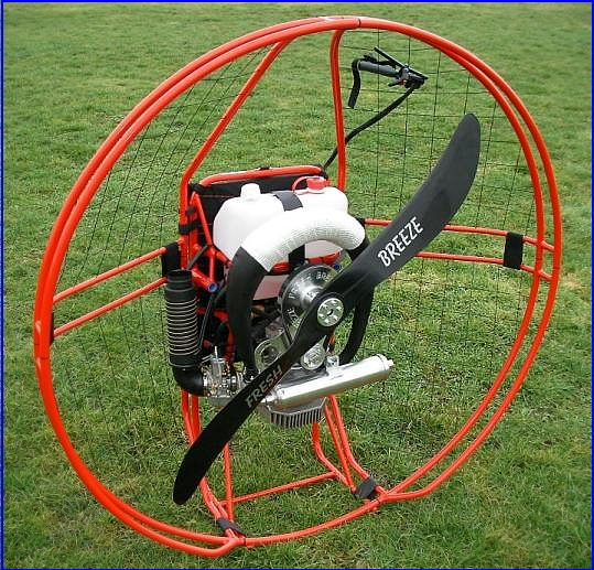 Fresh Breeze Solo Paramotor For Powered Paragliding Flying