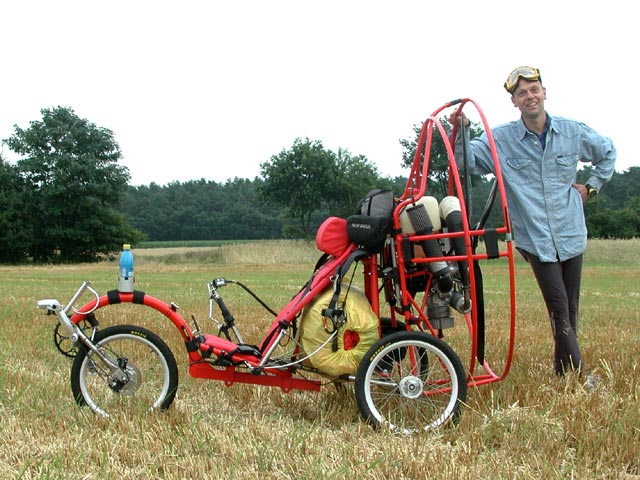 the fresh breeze flyke  a bicycle wheeled trike for