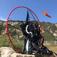 paramotor is a powered paraglider