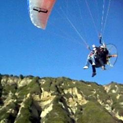 Tandem Flights on a Paramotor, Tandem Powered Paragliding