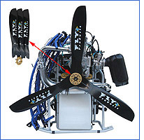 Fly Products Power Max Powered Paraglider, Paramotor - American