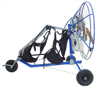 Fly Products Gold Series Powered Paragliders and Paramotors
