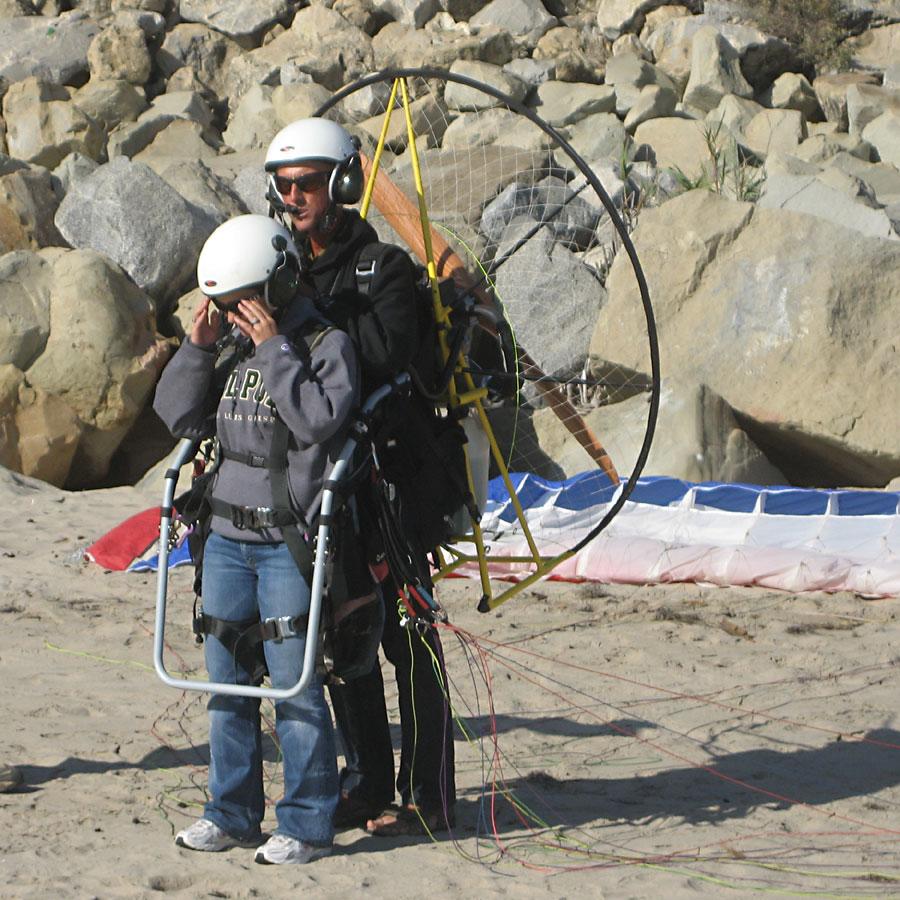 Powered Paraglider Tandem Clinic, www AmericanParagliding com